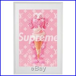 Kaws X Louis Vuitton X Supreme Original hypebeast Travis Scott artwork 1 Of 30