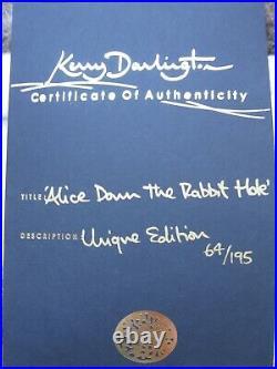 Kerry Darlington Alice Down the Rabbit Hole 64/195