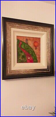 Kerry Darlington Artwork, signed and framed