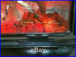 Kerry Darlington Original Mixed Media Framed Autumn Symphony Picture 2012