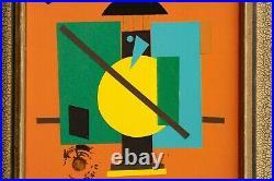 LAJOS KASSAK Composition Abstract Modern Mid Century Avant-Garde Kandinsky Art