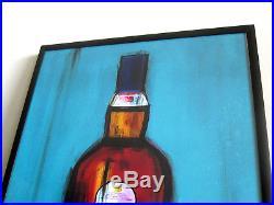 Lagavulin Single Malt Whisky Pop Art Acrylic Gastro Lounge Decor St. Bam