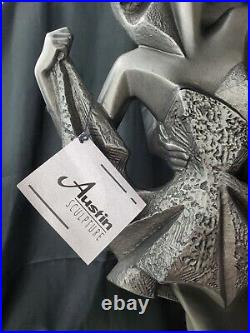 Large Austin Productions Art Deco High Fashion Romance High Society Sculpture