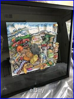 Limited Edition CHARLES FAZZINO 3D ARTWORK THE DUDE'S GOTTA HAVE IT! #4/100PR