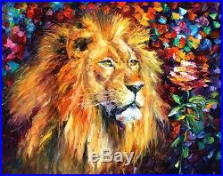 Lion Of Zion Limited Edition Mixed Media/Giclee on Canvas by Leonid Afremov