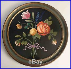 Listed American Artist RICHARD BLOW, Large Pietra Dura Signed Rare Beautiful