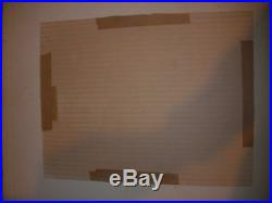 Listed Henry Newman American 1923 MID Century Abstract Painting Mixed Media 1964