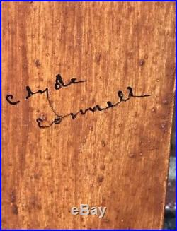 Louisiana Artist Clyde Connell Voodoo Totem Sculpture. Signed. 1989