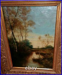 MUSEALER alter Romantiker unleserlich um 1870 oder älter