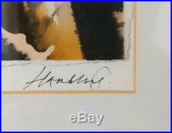 Maggi Hambling CBE Original Abstract Painting Signed/Framed with provenance