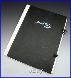 Mane-Katz, La Revolte Des Innocents with 16 lithographs, signed in pen