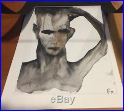 Marilyn Manson Mixed Media Art Print Self Portrait Dope Show Cover Art Ed 1/2