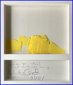Martin Creed Work No. 140 signed editioned original artwork Turner Prize artist
