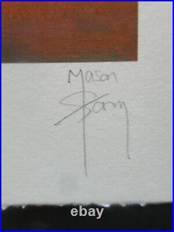 Mason Storm Toxic Beach Friendly Fire hand painted BANKSY