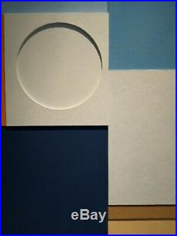Modern British art / St Ives style abstract relief by Richard Witham