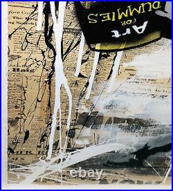 Mr. Brainwash Banksy Thrower 2014 Original Mixed Media On Paper Gallart