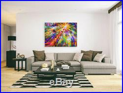 Nik Tod Original Painting Large Signed Collectors Art Gift Rare Abstract Tree 10