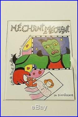 Niki de Saint Phalle Mechant Mechant, Puzzle + Buch / Book in Cassette