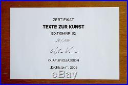 OLAFUR ELIASSON, Drahtstein, 2003, mit Zertifikat