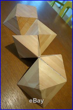 OLAFUR ELIASSON, Oktaeder, 1998, Zeichnung und Multiple, Unikat