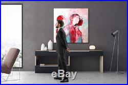 ORIGINAL vom KÜNSTLER 60 x 60 HANDGEMALT abstrakte Malerei moderne Kunst Unikat