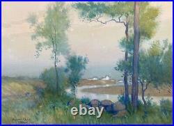 Ogunquit, Maine, New England Impressionist William J. Kaula, 1900