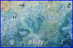 Original Art -Along The Beach Cornish painting SPECIAL OFFER
