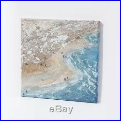 Original Art Incoming Tide on Crantock Cornwall SPECIAL OFFER WAS £125