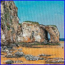 Original Art Perranporth Cornwall Cornish painting