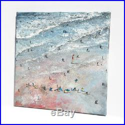 Original Art South Fistral Surf School Newquay Cornwall art gift painting
