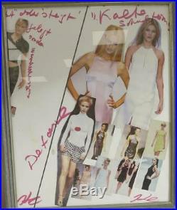Original Karl Lagerfeld Collage signiert
