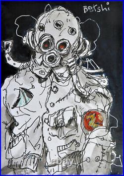 Original Ralph Bakshi Wizards-inspired Art
