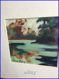 Original Rhea Gary Painting signed mixed media