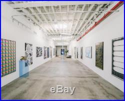Original & Stunning Large Scale OG Maya Hayuk Signed 162 x 101 Banksy Fridriks