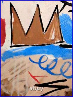 PAINTING signed Jean Michel Basquiat
