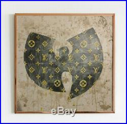 PETESTREET Signed Large Original Multi Media banksy faile WU TANG LOUIS VUITTON
