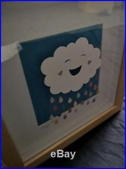 Paper Panda Happy Cloud Original Papercut with certificate