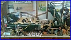 Patrick Richard La Ruee Vers L'art 1961 Jaguar E Cabriolet Handmade Shadowbox