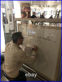 Patrick Rubinstein Paris En Folie Pop-Art, Unikat, 139x139cm