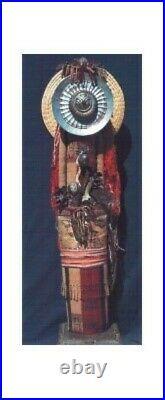 Peruvian Messenger' Original 3 Dimensional Art by Pamela Adger