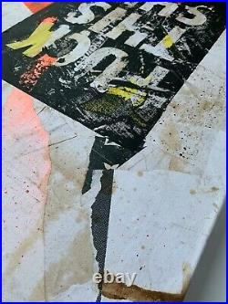 Petestreet Signed Original Canvas banksy faile MBW
