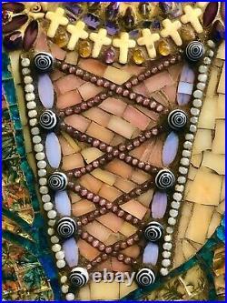 Queen Elizabeth I Handmade Mosaic Wall Art