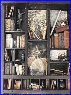 RARE Ettore Sobrero Miniature Library