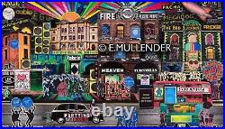 RAVE ART London's Nightclubs from Past To Present Limited Edition Prints
