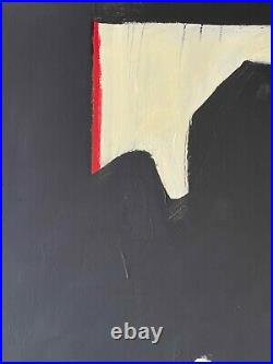 ROBERT MOTHERWELL oil on canvas of 60's- ELIGE TO SPANISH