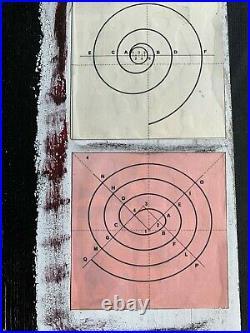 ROBERT RAUSCHENBERG mixedmedia on wood of 60's- MASTERPIECE! COMBINES