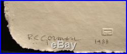 R. C. Gorman Kiana Paper Cast Embossing Art Signed Limited Ed SUBMIT OFFER