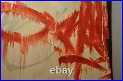 Remi Rough Original Canvas The Antagonist Unique With Coa
