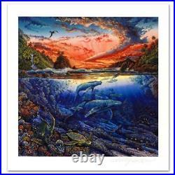 Robert Lyn Nelson Hana's Secret Magic Limited Edition Mixed Media Art