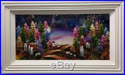 Rozanne Bell Harvest Moon (36 x 18) (Original Framed) In Stock